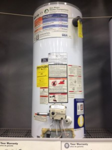 Image Of Gas Water Heater Tank  Kenwood